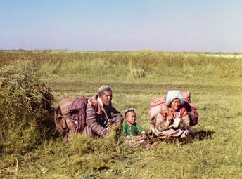 Казахи из великой степи