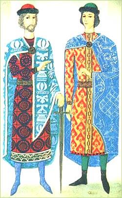 Одежда и украшения Древней Руси Центр Льва Гумилёва Шли