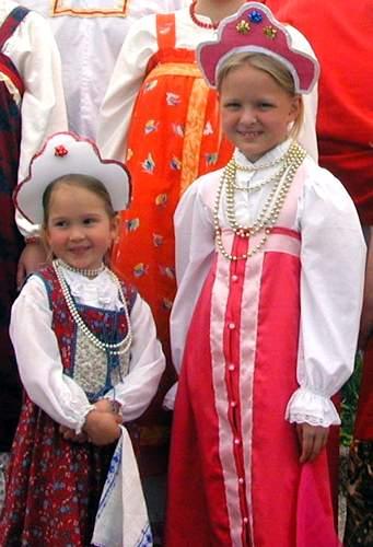 Одежда и украшения Древней Руси  1f69bde786d49