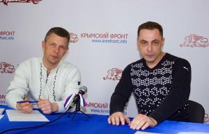 Виктор Попов и Сергей Веселовский...