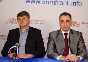 Сергей Баранов и Виктор Попов...
