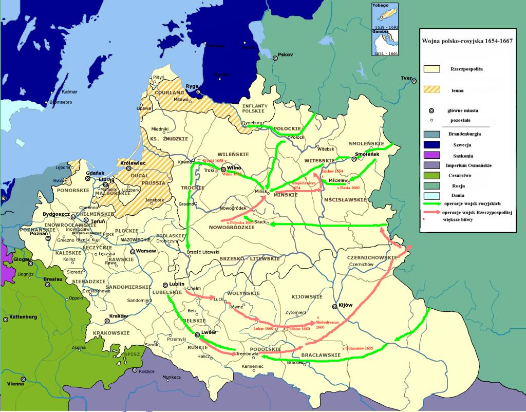 Wojna_polsko-rosyjska_1654-1667