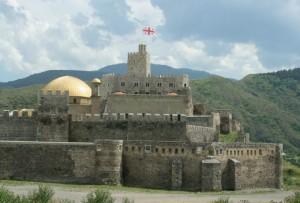 ГРУЗИЯ. Крепость Рабат в Ахалцихе, вид с севера