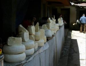 ГРУЗИЯ. Сыр на гурджаанском рынке
