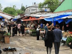 Грузия. Озургети. Старый рынок.