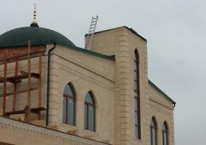 Пятигорск. Здание мечети после демонтажа минаретов