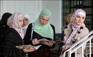 Чеченки изучают Ислам