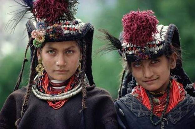 Негритянское племя чеченцев
