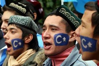 TURKEY-CHINA-UIGHUR-PROTEST-EAST TURKISTAN