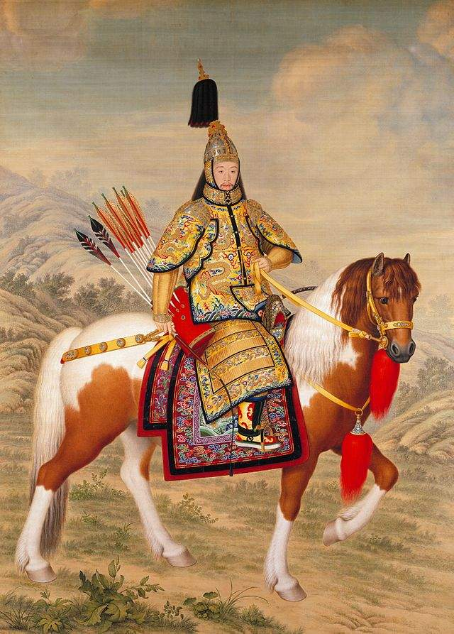 640px-The_Qianlong_Emperor_in_Ceremonial_Armour_on_Horseback