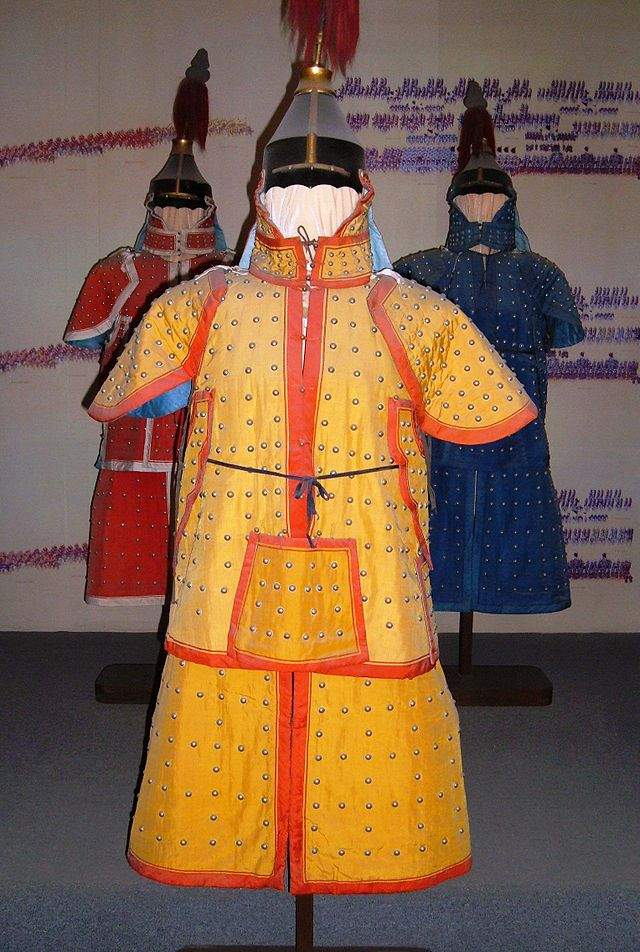 Qing_military_uniforms