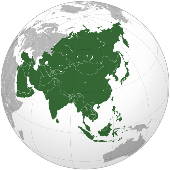 Asia_orthographic_projection