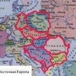 Карта-Восточной-Европы