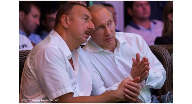 Ильхам Алиев и Владимир Путин на встрече в Сочи фото: sputnik.az